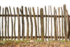 Oude en ruwe houten omheining Royalty-vrije Stock Foto's
