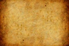 Oude en versleten document textuurachtergrond Stock Foto