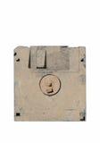 Oude en vuile diskette Royalty-vrije Stock Afbeeldingen