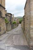 Oude Engelse Backstreet Stock Foto's