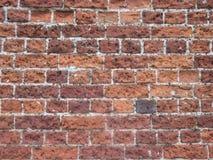 Oude Engelse bakstenen muur Stock Afbeelding