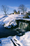 Oude Engelse Winterâs Royalty-vrije Stock Fotografie