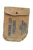 Oude envelop stock fotografie
