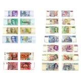 Oude Europese munten Stock Foto's