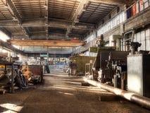 Oude fabriek Royalty-vrije Stock Fotografie