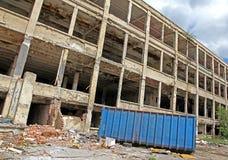 Oude fabriek Royalty-vrije Stock Foto's