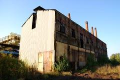 Oude fabriek Stock Afbeelding