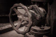 Oude fabriek royalty-vrije stock afbeeldingen