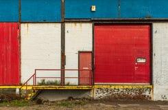 Oude fabriek stock fotografie