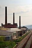 Oude fabriek Royalty-vrije Stock Afbeelding