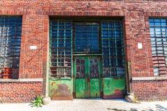 Oude fabriek in Bronx, NYC royalty-vrije stock fotografie