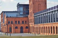 Oude fabriek Ludwik Grohman Royalty-vrije Stock Fotografie
