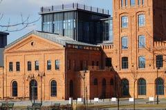 Oude fabriek Ludwik Grohman Stock Afbeeldingen