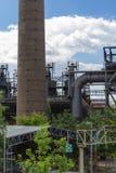 Oude fabriek vandaag Royalty-vrije Stock Afbeeldingen