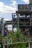 Oude fabriek vandaag Royalty-vrije Stock Foto's