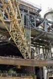 Oude fabriek vandaag Stock Foto's