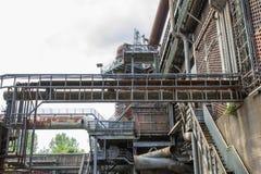 Oude fabriek vandaag Stock Fotografie