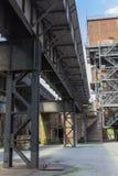 Oude fabriek vandaag Royalty-vrije Stock Afbeelding