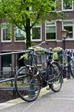 Oude fiets Stock Afbeelding