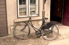 Oude fiets Stock Foto