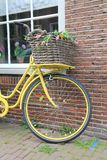 Oude fiets Stock Foto's