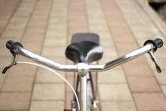 Oude fiets. Royalty-vrije Stock Fotografie