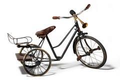 Oude fiets in retro stijl Royalty-vrije Stock Afbeeldingen