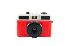 Oude film plastic camera Royalty-vrije Stock Afbeeldingen