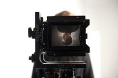 Oude filmcamera Royalty-vrije Stock Foto
