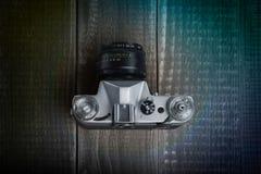 Oude filmcamera Stock Foto's