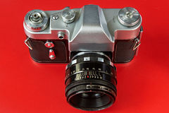 Oude filmcamera's Royalty-vrije Stock Afbeelding