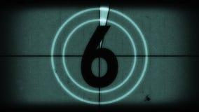 Oude filmleider stock video