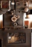 Oude filmprojector royalty-vrije stock foto's