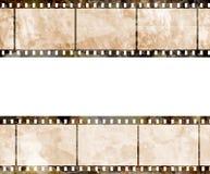 Oude filmstrook Royalty-vrije Stock Afbeelding