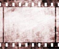 Oude filmstrook Stock Foto