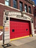 Oude Firehouse van Brooklyn royalty-vrije stock fotografie