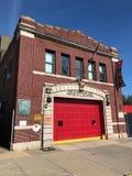Oude Firehouse van Brooklyn royalty-vrije stock foto's