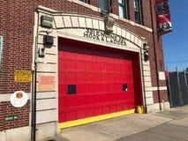 Oude Firehouse van Brooklyn stock foto's
