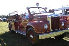 Oude Firetruck Stock Fotografie