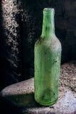 Oude fles Stock Foto