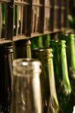 Oude flessen royalty-vrije stock foto's