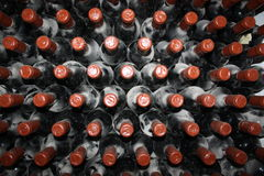 Oude flessen van wijnstok Royalty-vrije Stock Afbeelding