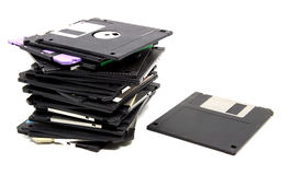 Oude floppy disk Stock Fotografie