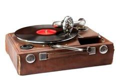 Oude fonograaf Stock Foto