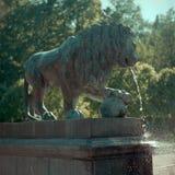 Oude fontein Royalty-vrije Stock Afbeelding