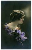 Oude foto. Royalty-vrije Stock Afbeeldingen