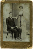 Oude foto. Royalty-vrije Stock Foto