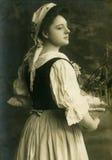 Oude foto. Stock Afbeeldingen
