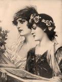 Oude foto, 1923 Stock Foto