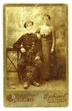 Oude foto-2 Stock Foto